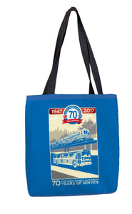 70th Anniversary Tote Bag