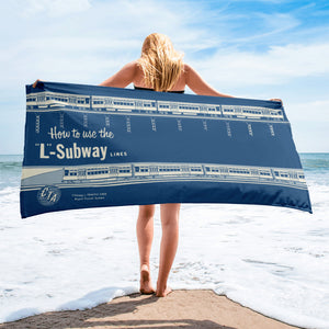 How to Use the 'L' Subway Towel