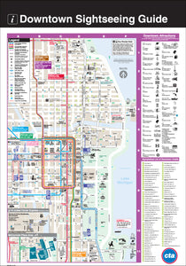 Downtown Sightseeing Guide Print
