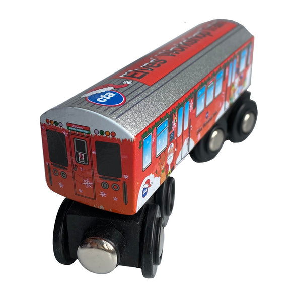 2019 CTA Elf Train Wooden Train