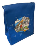 'L' Train Parts Lunch Bag