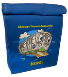 'L' Train (Personalized) Lunch Bag