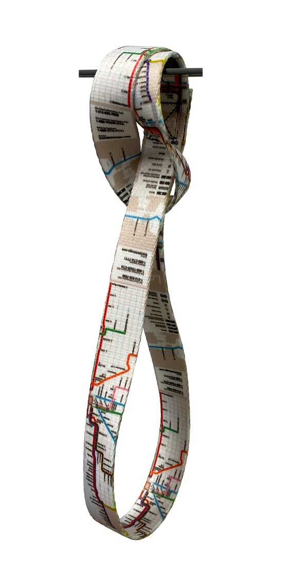 Bus & Rail Map Transit Strap