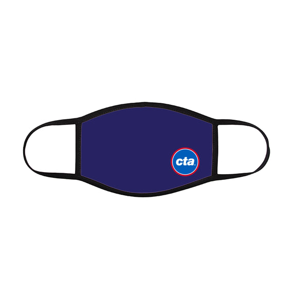 CTA Logo (on Navy) Face Mask (Youth)