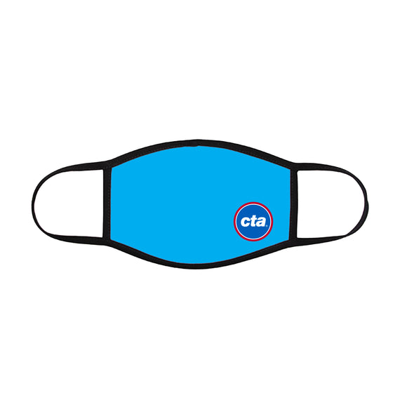 CTA Logo (on Light Blue) Face Mask (Youth)