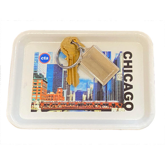 River Crossing Chicago Valet Tray
