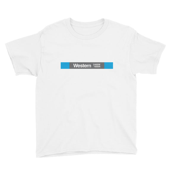 Western (Blue 2400W 1900N) Youth T-Shirt