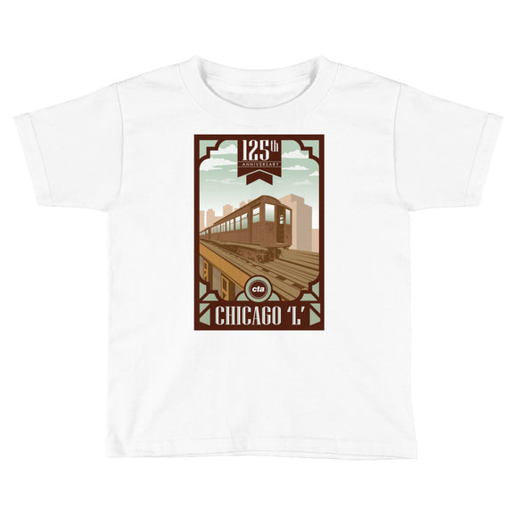125th Anniversary Toddler T-Shirt - CTAGifts.com