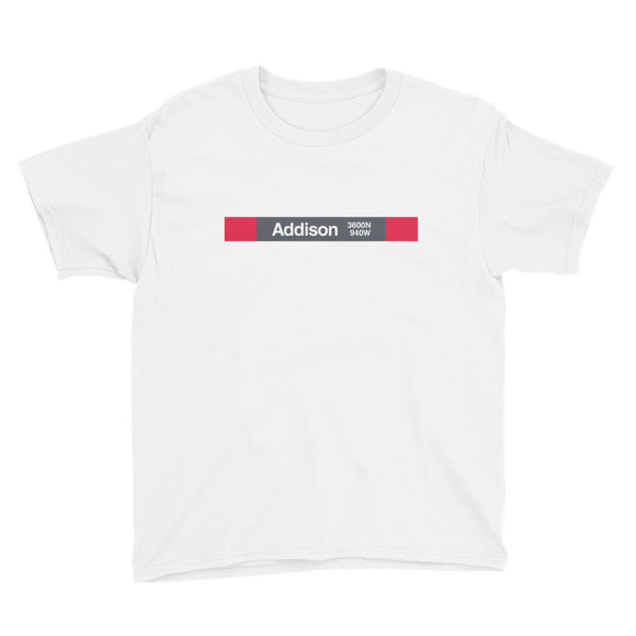 Addison (Red) Youth T-Shirt