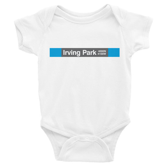 Irving Park (Blue) Romper