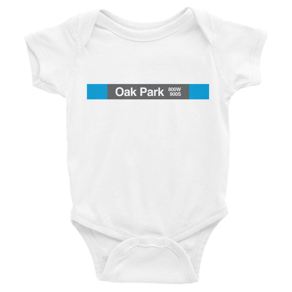 Oak Park (Blue) Romper