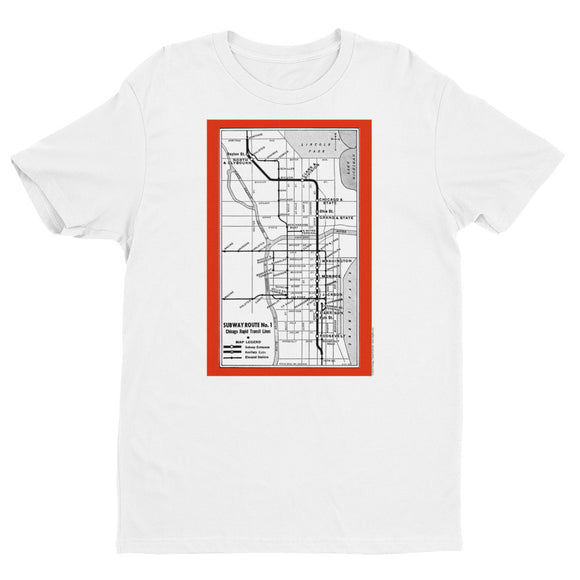 Subway Route No. 1 T-shirt