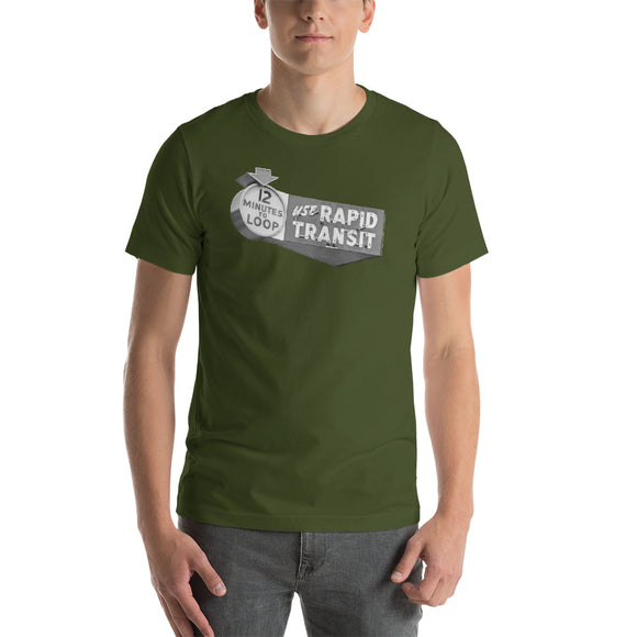 12 Minutes to the Loop (Olive) T-Shirt