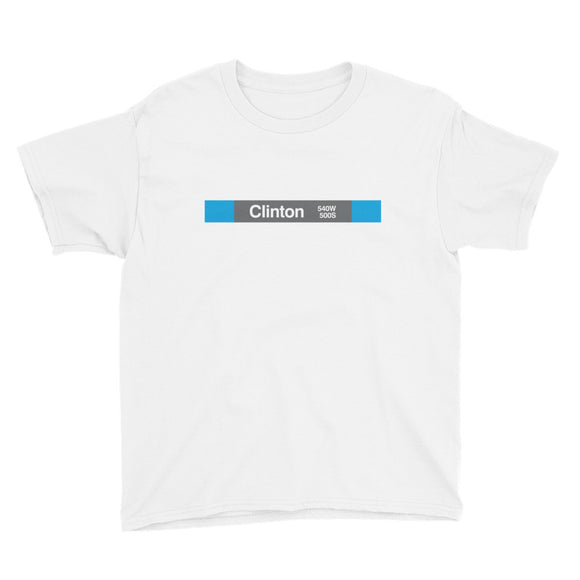 Clinton (Blue) Youth T-Shirt