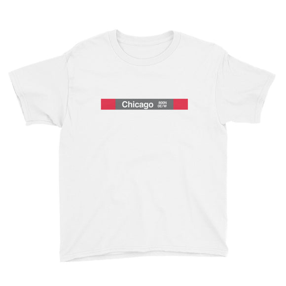 Chicago (Red) Youth T-Shirt