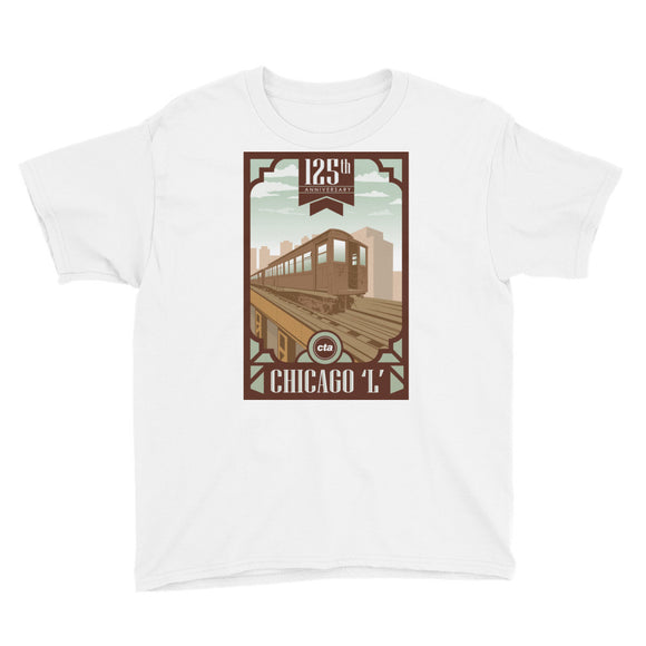 125th Anniversary Youth T-Shirt - CTAGifts.com