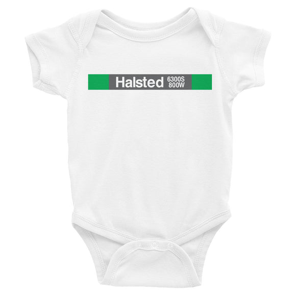 Halsted (Green) Romper