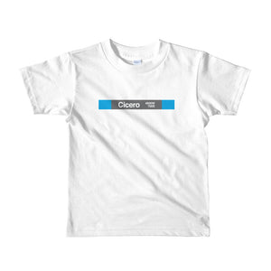 Cicero (Blue) Toddler T-Shirt