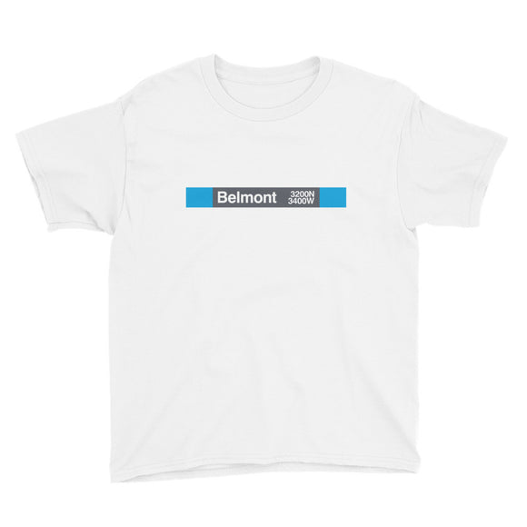 Belmont (Blue) Youth T-Shirt
