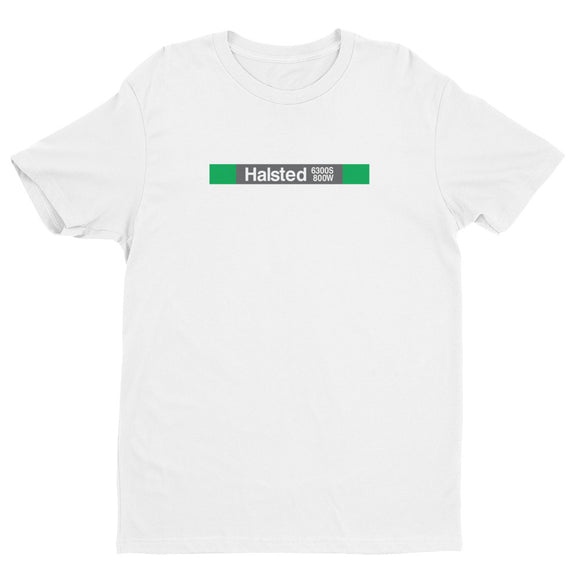 Halsted (Green) T-Shirt