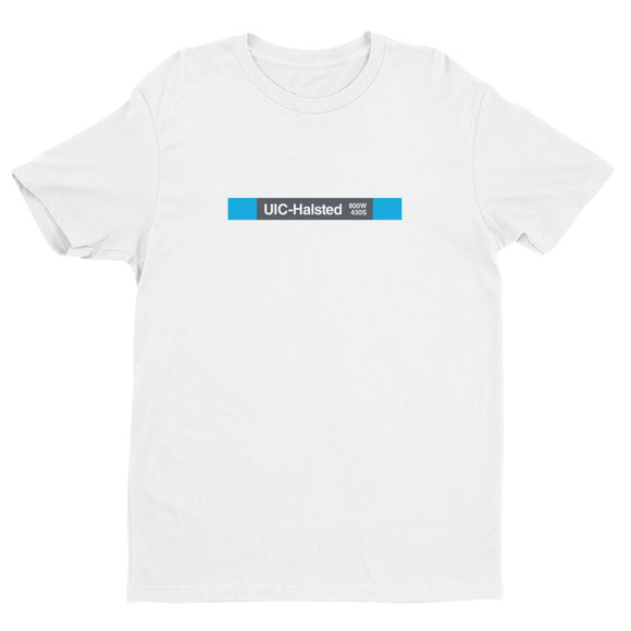 UIC-Halsted T-Shirt - CTAGifts.com