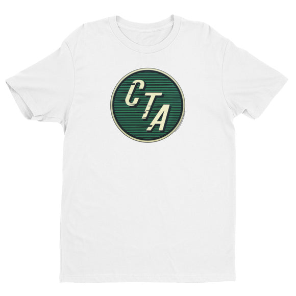 Green CTA Logo (White) T-shirt