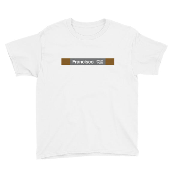 Francisco Youth T-Shirt - CTAGifts.com