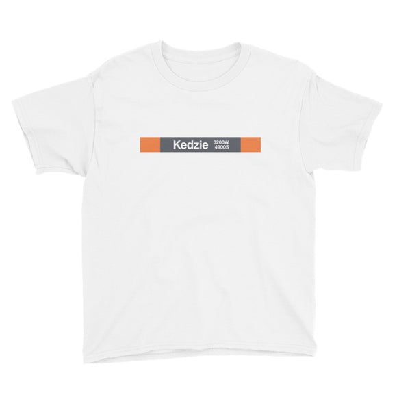 Kedzie (Orange) Youth T-Shirt