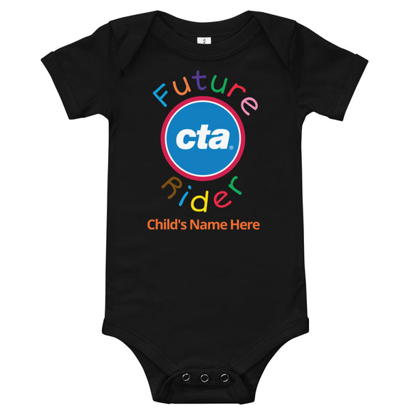 Future CTA Rider (Personalized) Romper