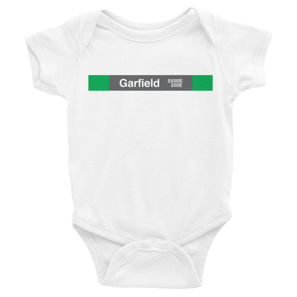 Garfield (Green) Romper