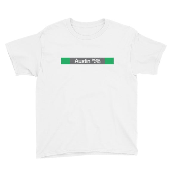 Austin (Green) Youth T-Shirt - CTAGifts.com