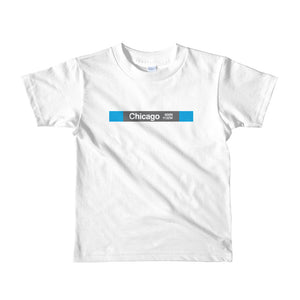 Chicago (Blue) Toddler T-Shirt - CTAGifts.com