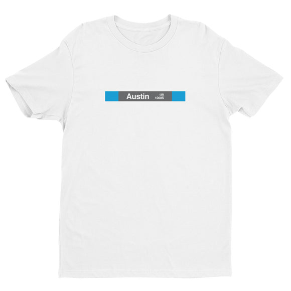 Austin (Blue) T-Shirt - CTAGifts.com