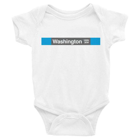 Washington (Blue) Romper