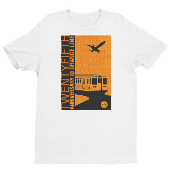 Orange Line 25th Anniversary T-shirt