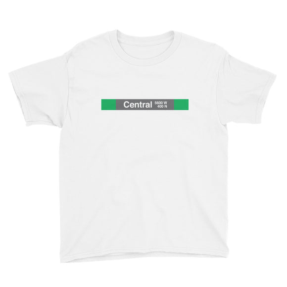 Central (Green) Youth T-Shirt