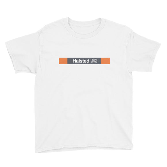 Halsted (Orange) Youth T-Shirt - CTAGifts.com