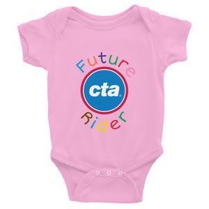 Future CTA Rider Infant Bodysuit (Pink)