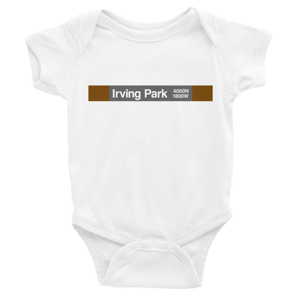 Irving Park (Brown) Romper