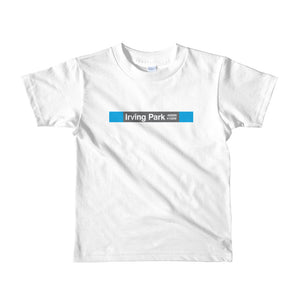Irving Park (Blue) Toddler T-Shirt