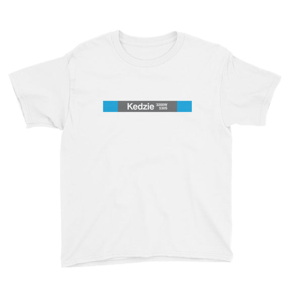Kedzie (Blue) Youth T-Shirt