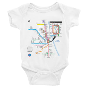 CTA Rail Map Romper