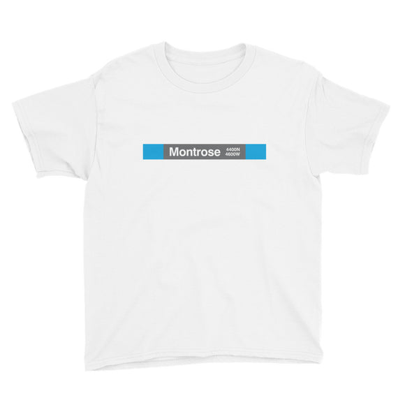 Montrose (Blue) Youth T-Shirt