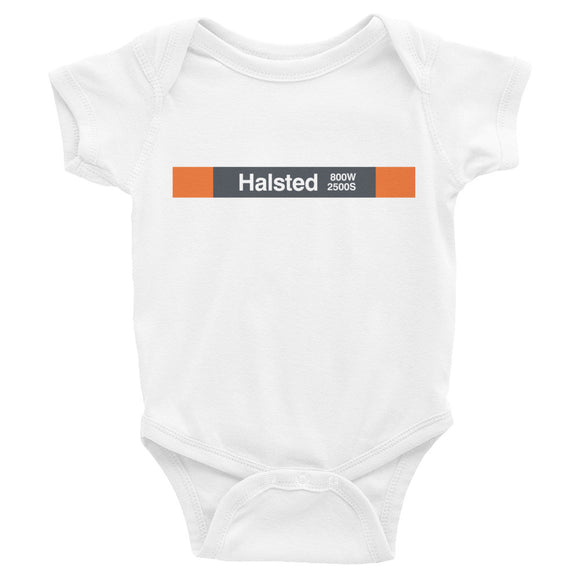 Halsted (Orange) Romper