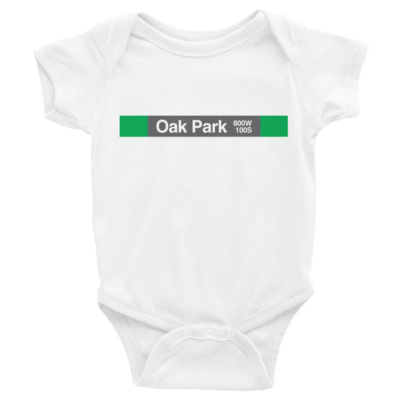 Oak Park (Green) Romper