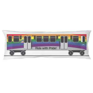 Ride with Pride Body Pillow Case