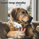 NEW automatic dog collar with tone static shock dog rechargeable no bark collar