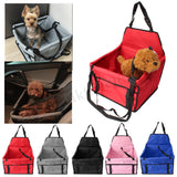 Dog Puppy Foldable Portable Safety Car Travel Basket Booster Seat