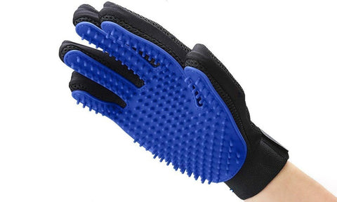 Dog Grooming Shedding Cleaning Brush Right Handed Glove