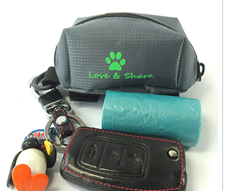 Dog Poop Bag Walking Dispenser Clip Holder